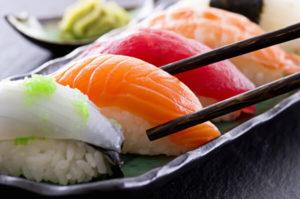 Coy sushi